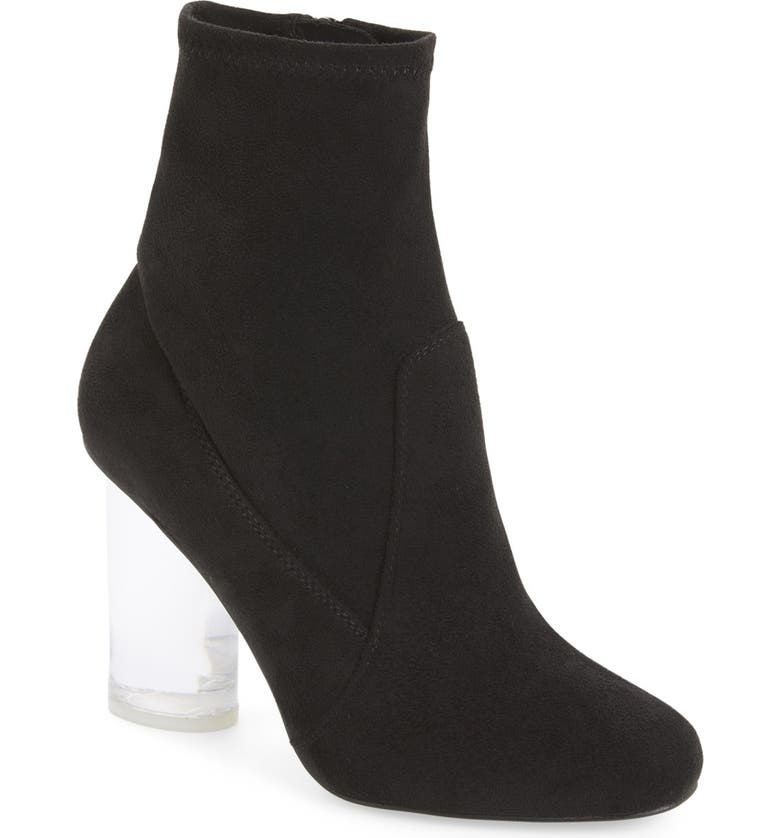 JEFFREY CAMPBELL Ankle Boot, Main, color, BLACK SUEDE
