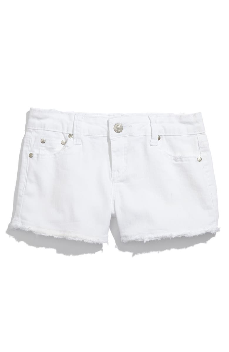 TRACTR Frayed Shorts, Main, color, 100
