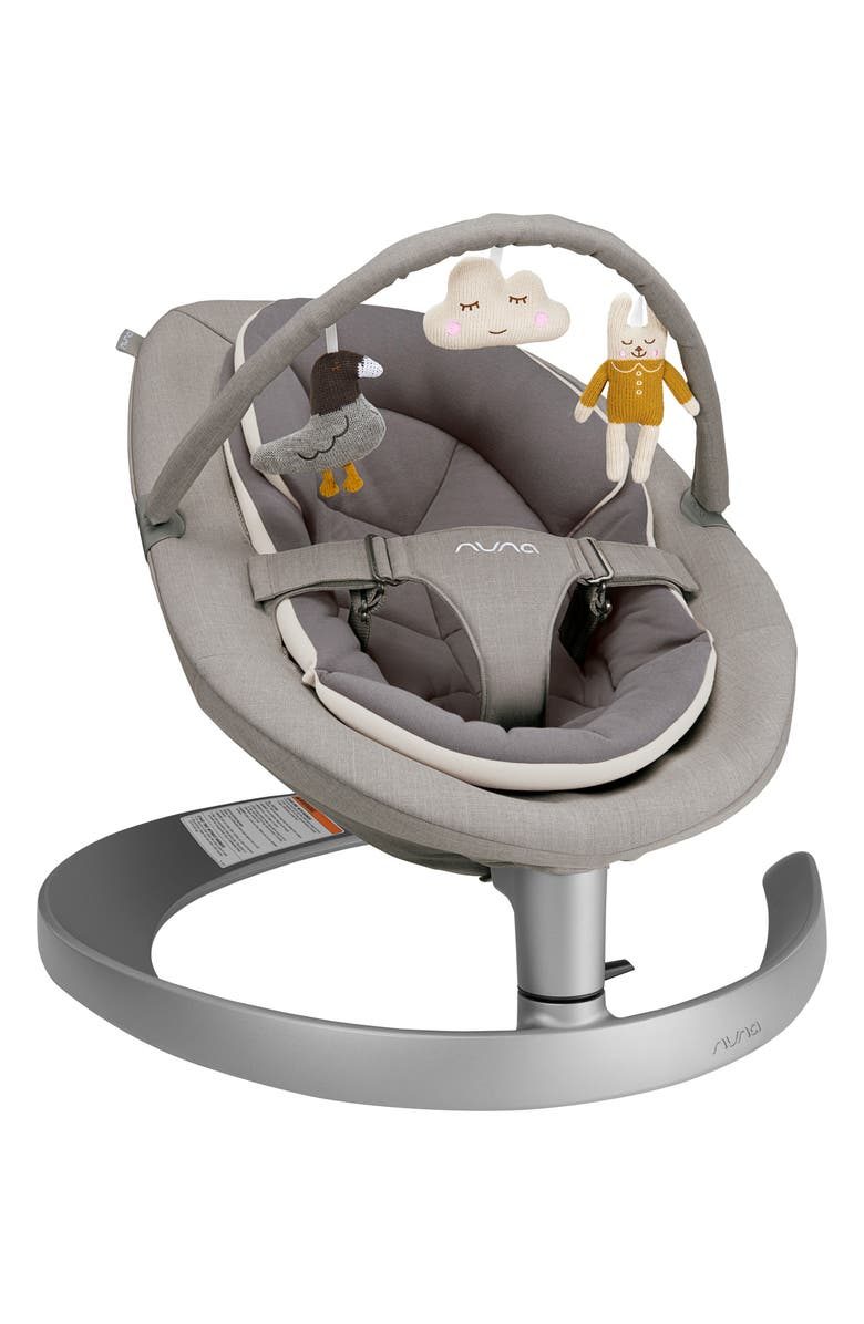 NUNA LEAF<sup>™</sup> grow Baby Seat with Toy Bar, Main, color, QUARTZ