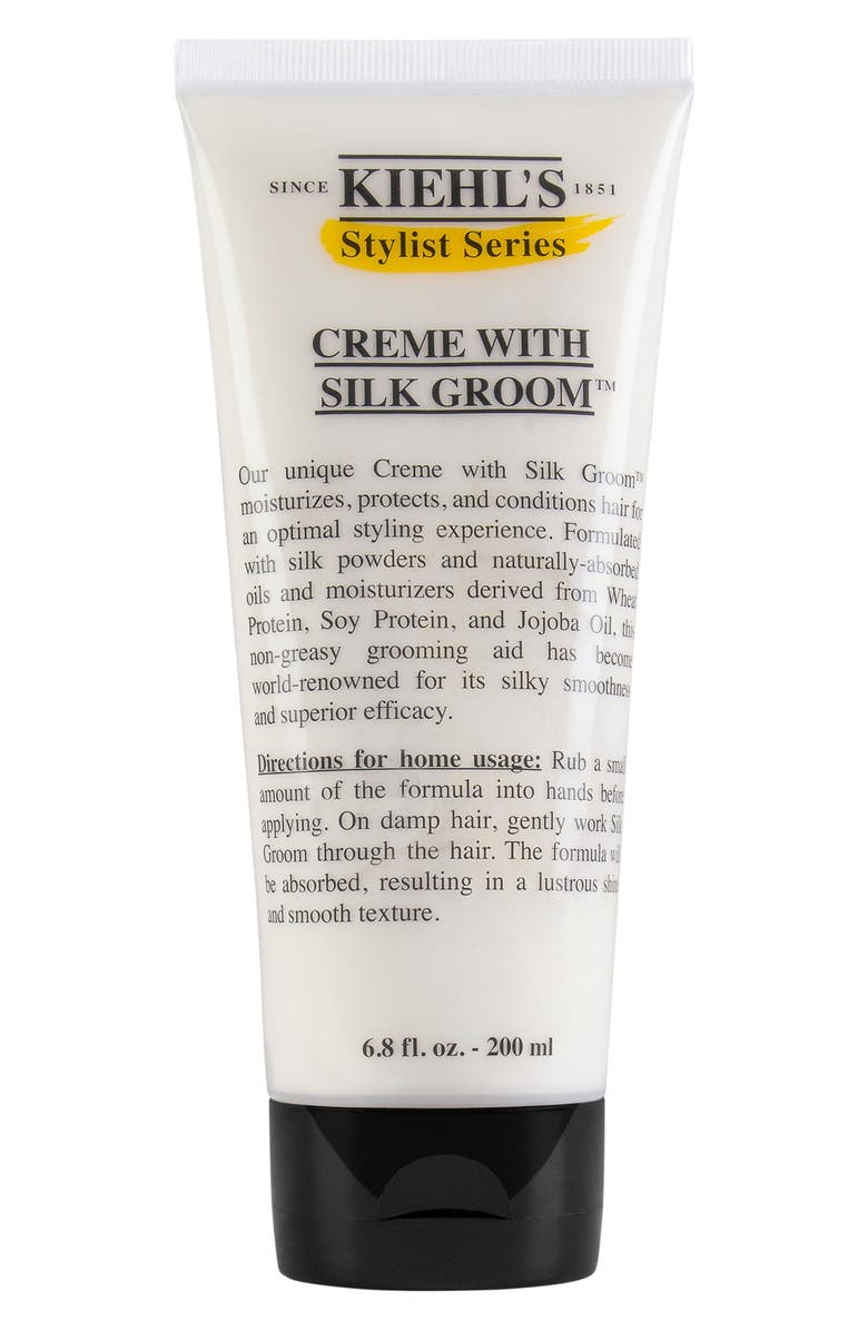 KIEHL'S SINCE 1851 Creme with Silk Groom<sup>™</sup> Styling Creme for Hair, Main, color, 000