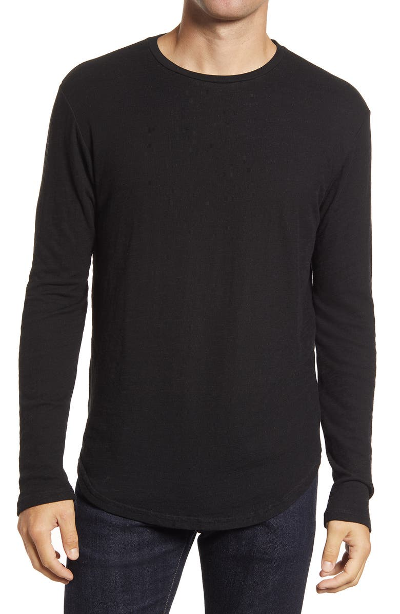 GOODLIFE Double Layer Long Sleeve T-Shirt, Main, color, 001