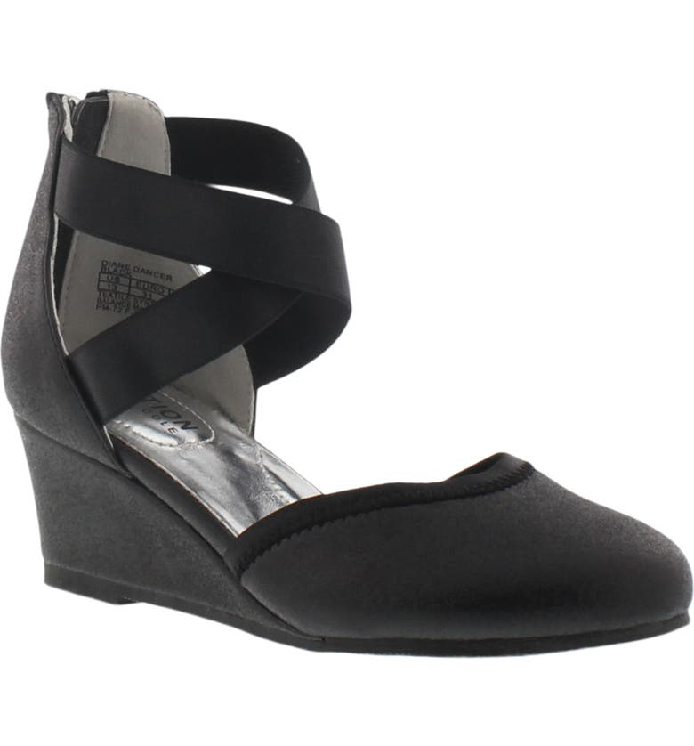 REACTION KENNETH COLE Diane Dancer Wedge, Main, color, 001
