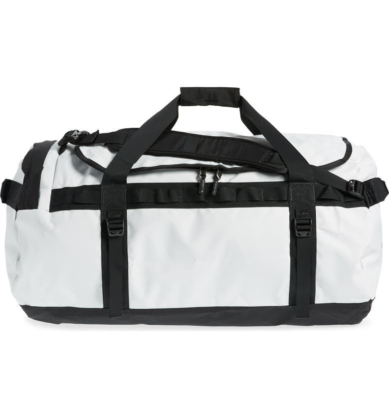 THE NORTH FACE Base Camp Large Duffel Bag, Main, color, TIN GREY/ TNF BLACK