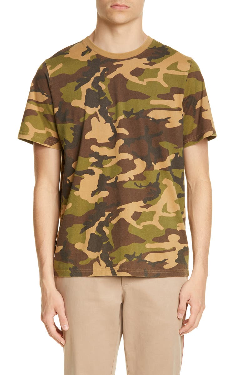 OVADIA & Sons Distressed Camo T-Shirt, Main, color, 661