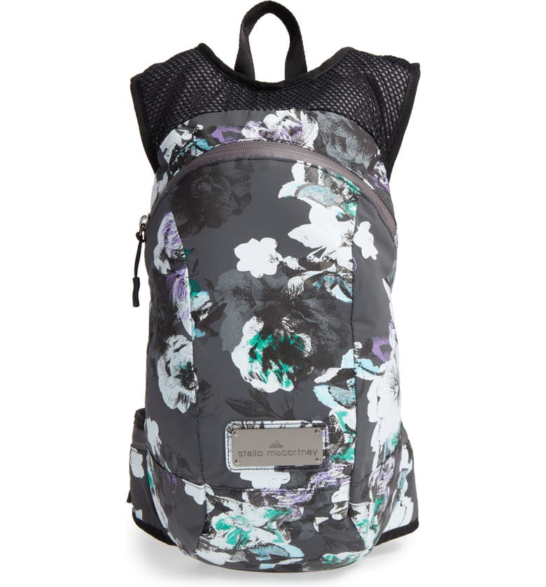 ADIDAS BY STELLA MCCARTNEY Backpack, Main, color, BLACK REFLECTIVE/ MULTICOLOR