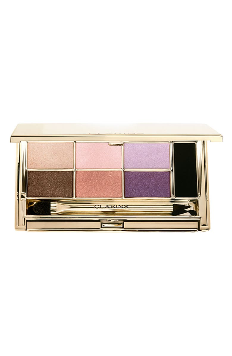 CLARINS 'Collector' Mineral Eye Palette, Main, color, 000