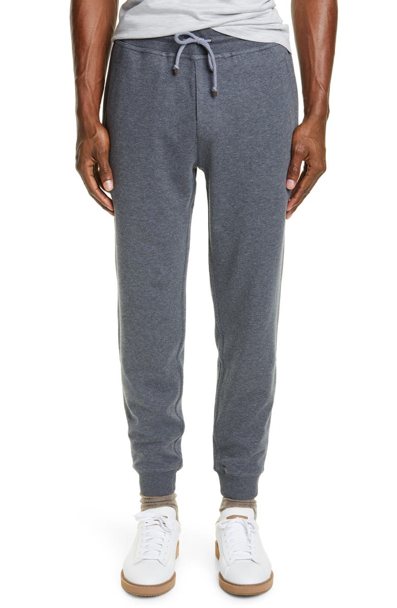 BRUNELLO CUCINELLI Leisure Pants, Main, color, GREY
