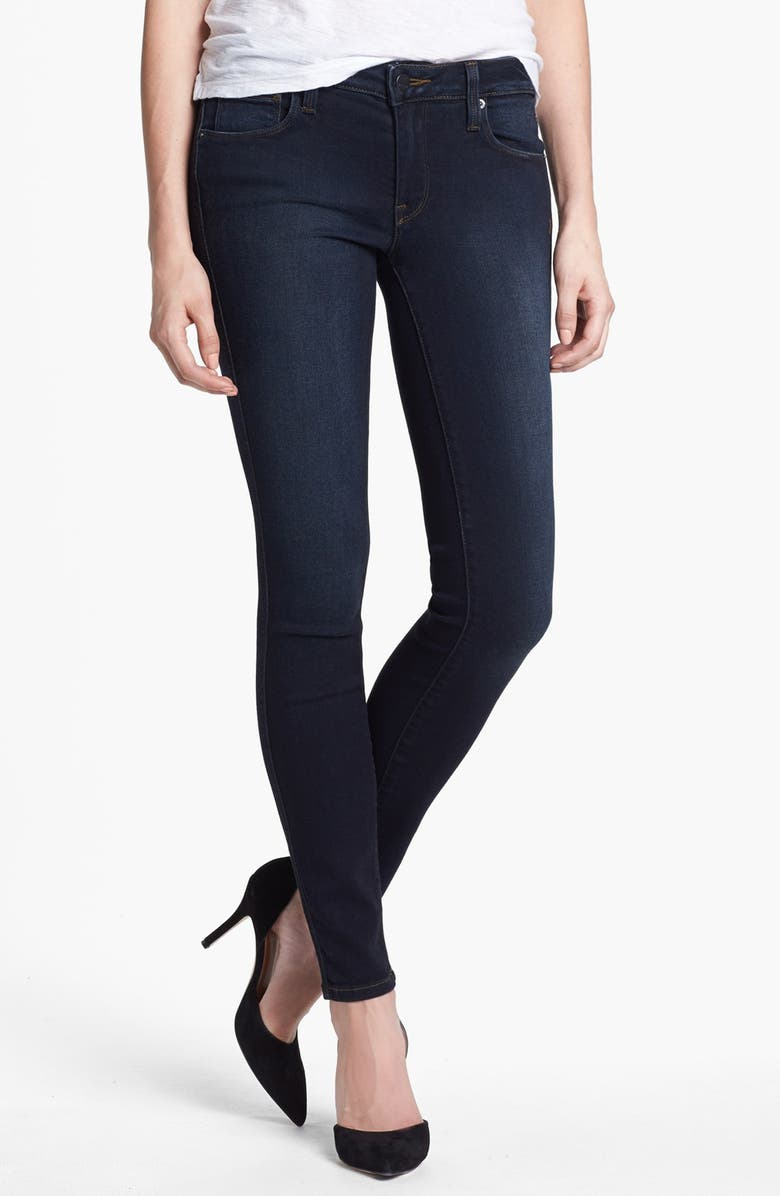 GENETIC 'The Shya' Cigarette Skinny Jeans, Main, color, 467