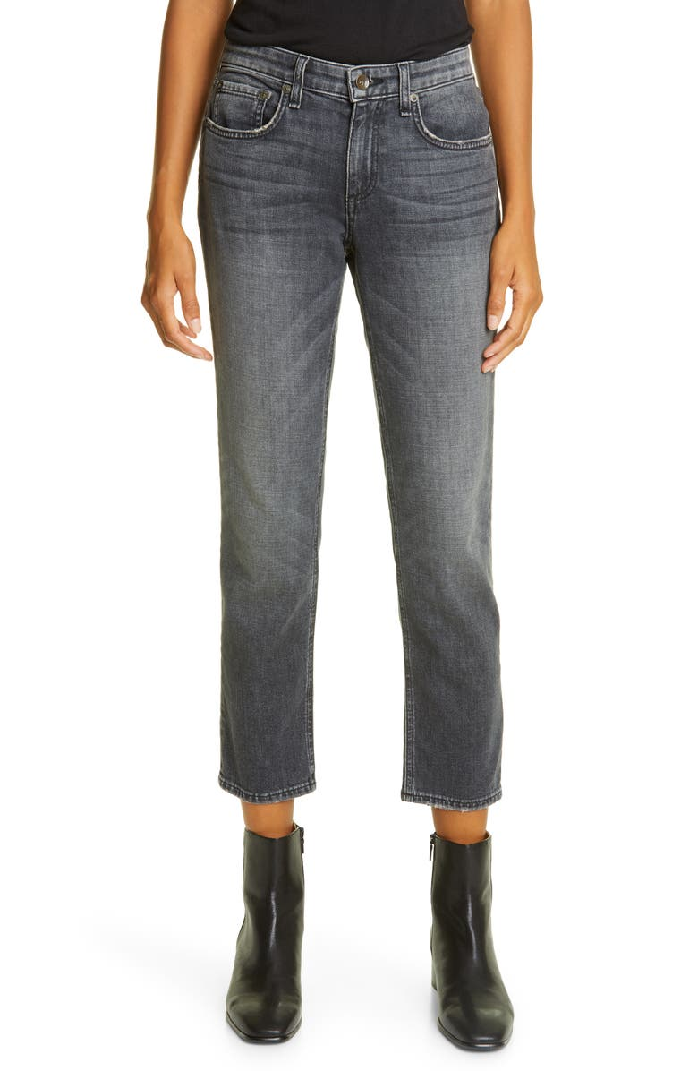 RAG & BONE Dre Slim Boyfriend Jeans, Main, color, NIGHT RIDE