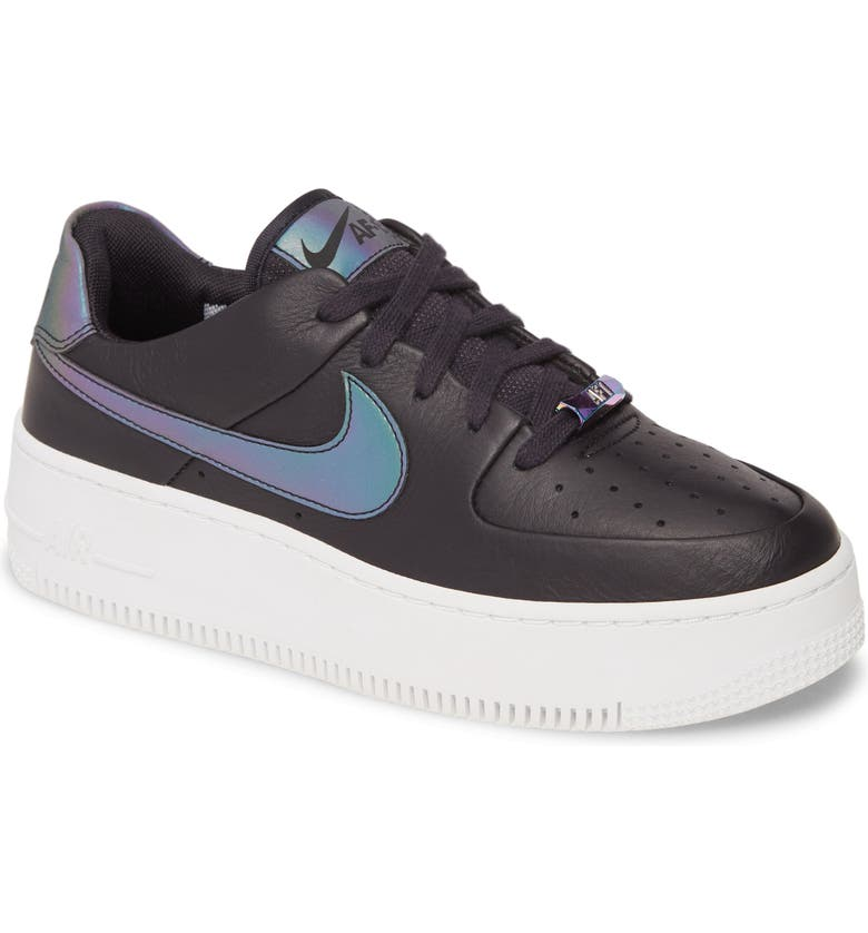 NIKE Air Force 1 Sage Low LX Sneaker, Main, color, 004