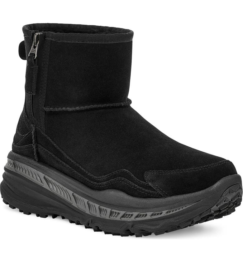 UGG<SUP>®</SUP> CA805 Classic Waterproof Snow Boot, Main, color, BLACK SUEDE