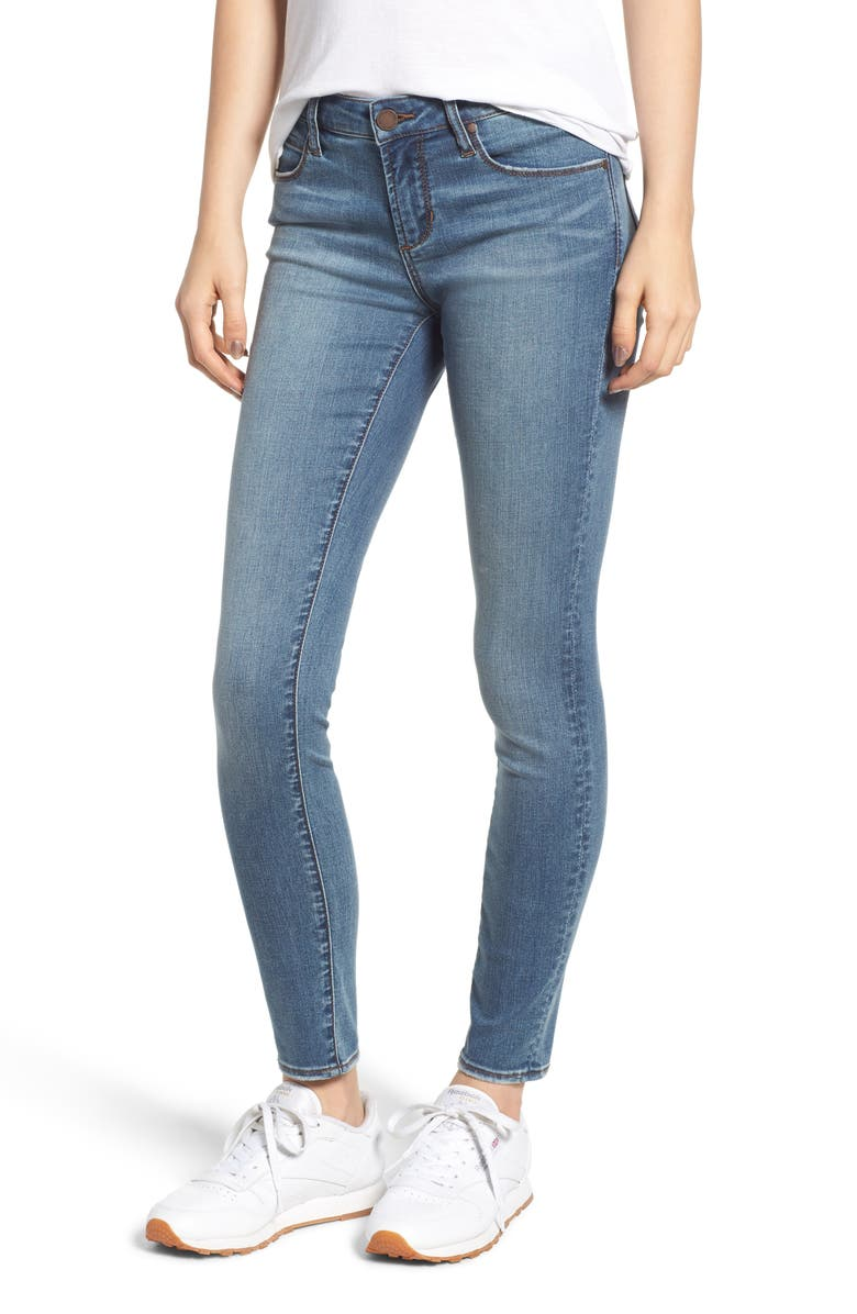ARTICLES OF SOCIETY Sarah Skinny Jeans, Main, color, DOVER