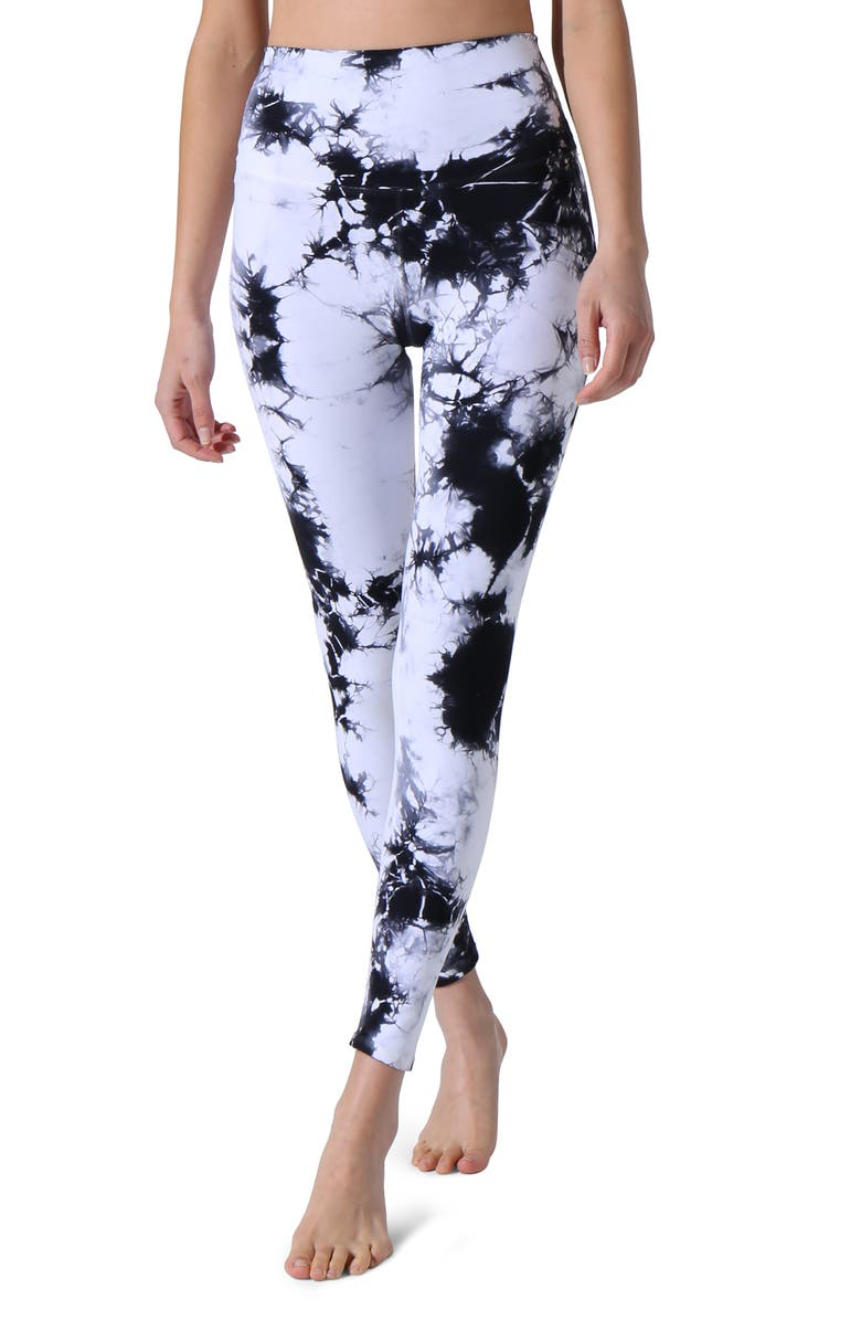 ELECTRIC & ROSE The Venice Leggings, Main, color, ONYX CLOU