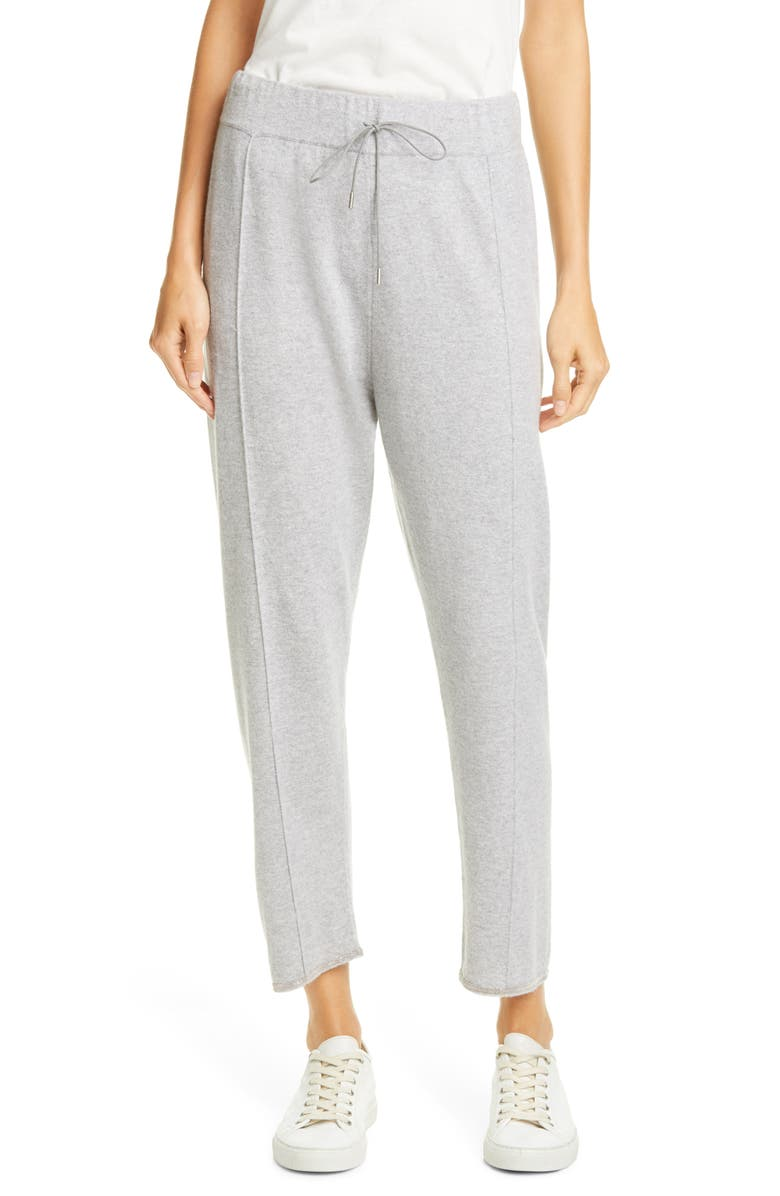 FABIANA FILIPPI Bead Trim Cashmere Joggers, Main, color, 020