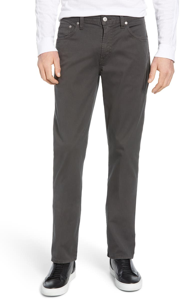 CITIZENS OF HUMANITY Gage Slim Straight Leg Twill Pants, Main, color, 026