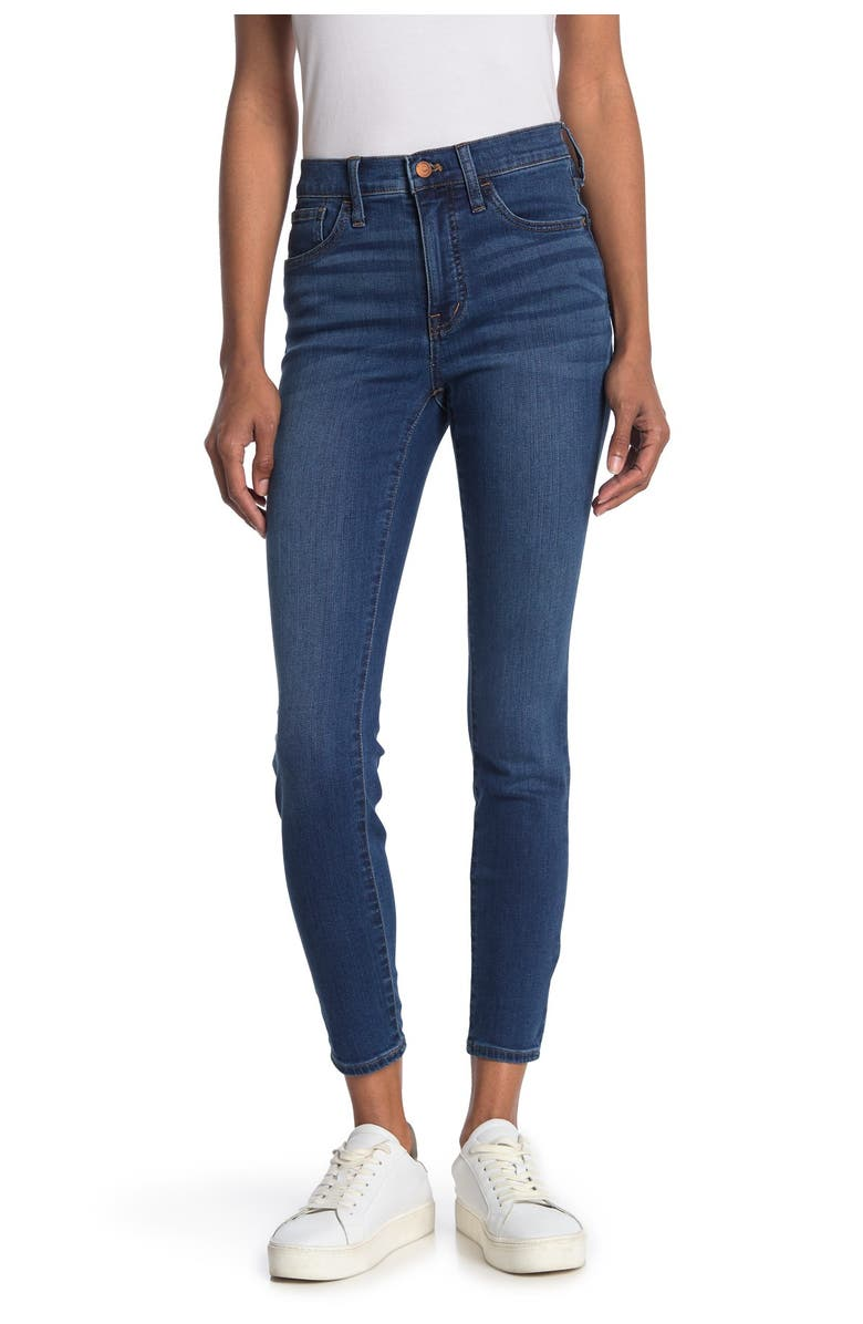 MADEWELL Mid Rise Skinny Jeans, Main, color, ARDWICK WASH