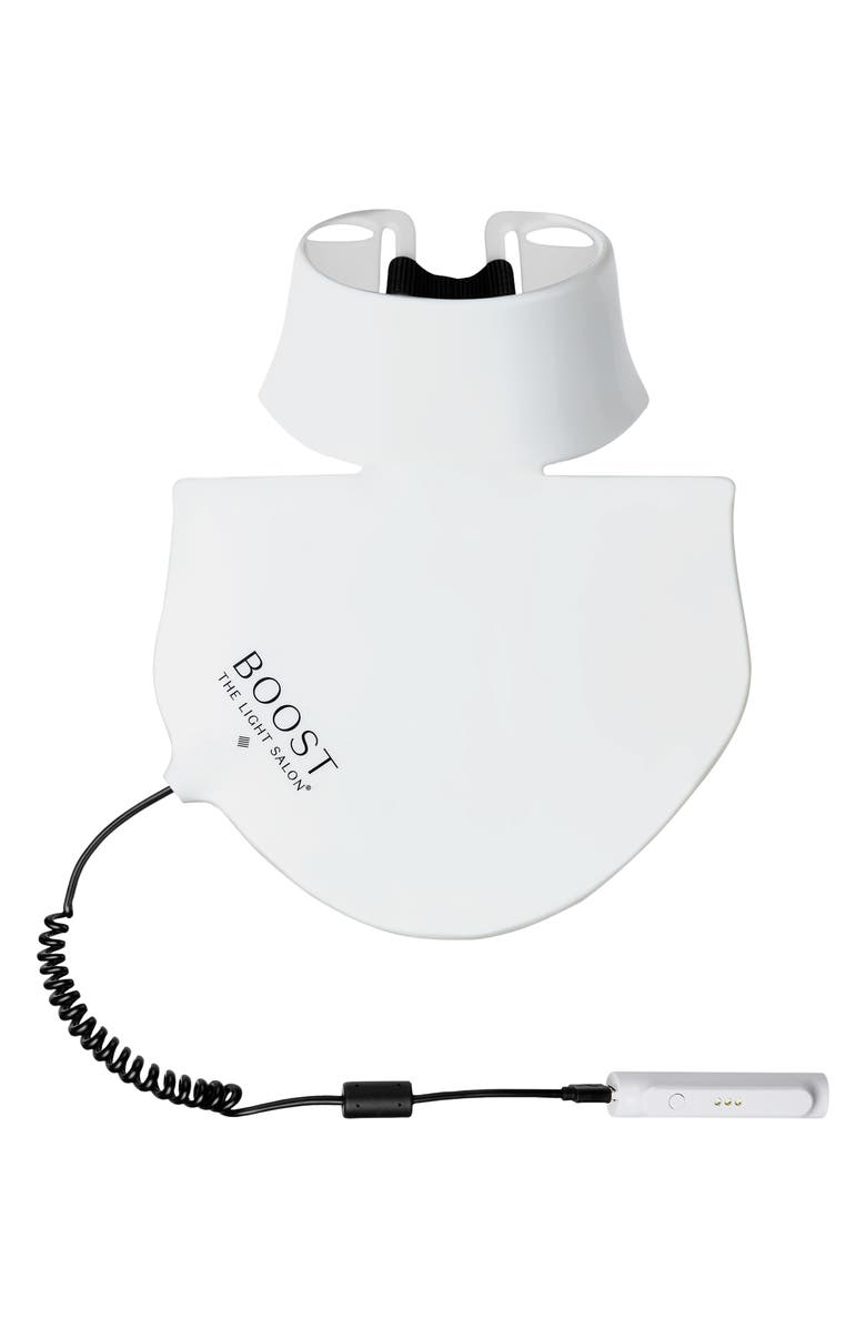 THE LIGHT SALON Boost LED Advanced Light Therapy Décolletage Bib, Main, color, NO COLOR