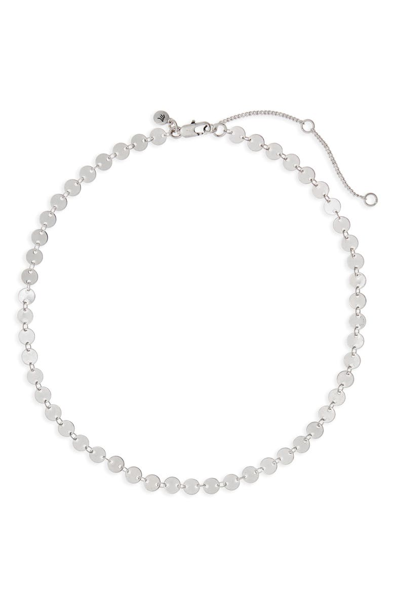 MADEWELL Disc Chain Necklace, Main, color, 040