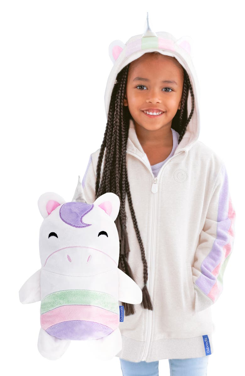 CUBCOATS Uki 2-in-1 Stuffed Animal Hoodie, Main, color, 039
