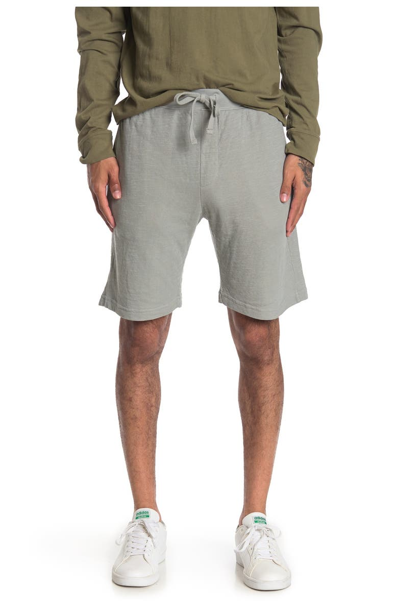 GOODLIFE Double Layer Shorts, Main, color, QUARRY