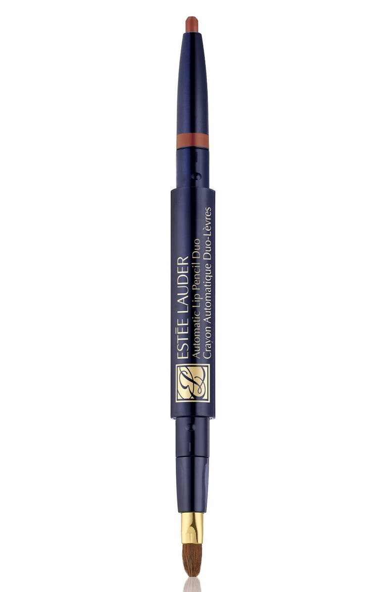 ESTÉE LAUDER Automatic Lip Pencil Duo, Main, color, SPICE