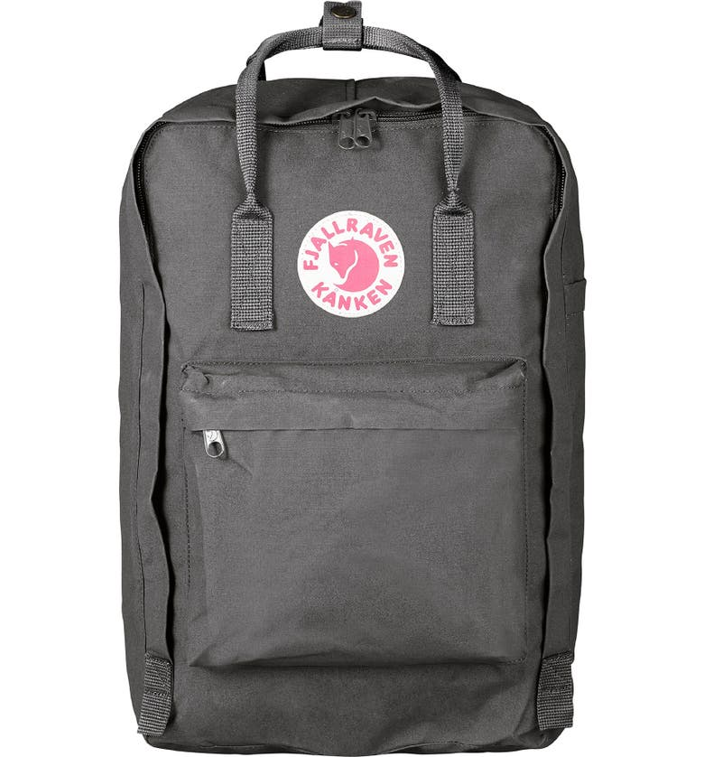 FJÄLLRÄVEN Kånken 17-Inch Laptop Backpack, Main, color, SUPER GREY
