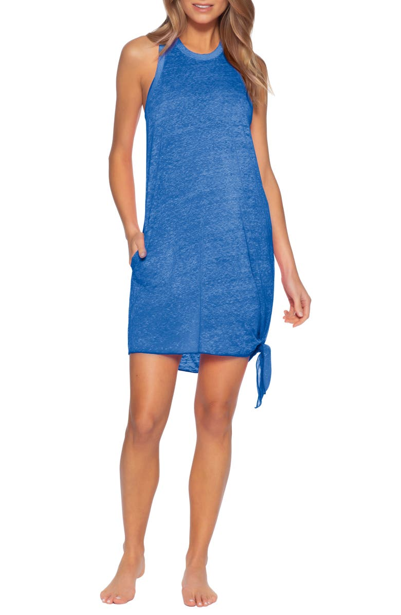 BECCA Beach Date Cover-Up Dress, Main, color, 425