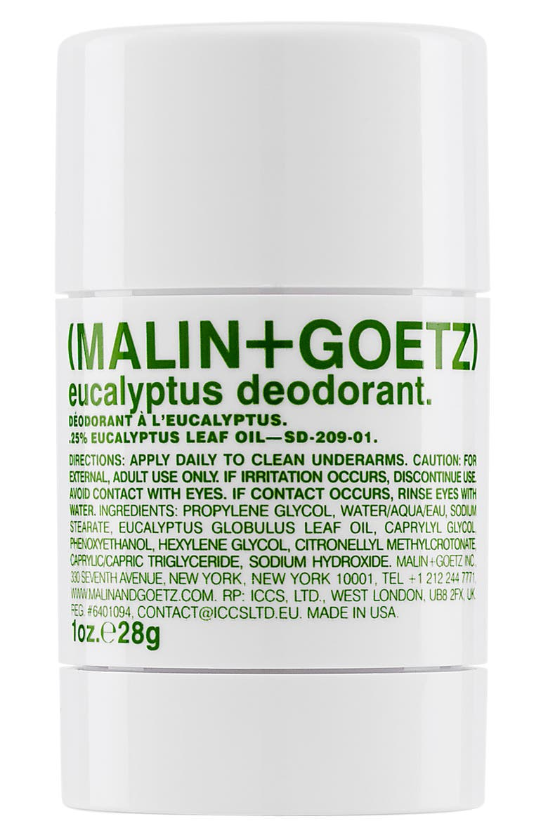 MALIN+GOETZ Eucalyptus Deodorant, Main, color, NO COLOR