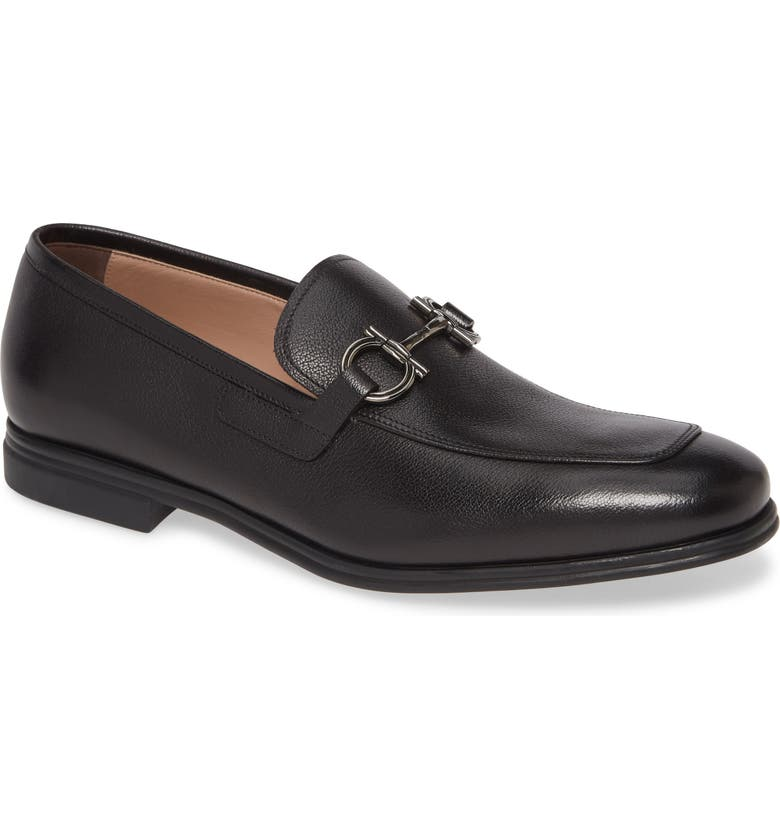 SALVATORE FERRAGAMO Scarlet Bit Loafer, Main, color, NERO