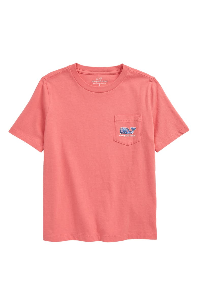 VINEYARD VINES Kids' Sailing Whale Graphic Tee, Main, color, PINK