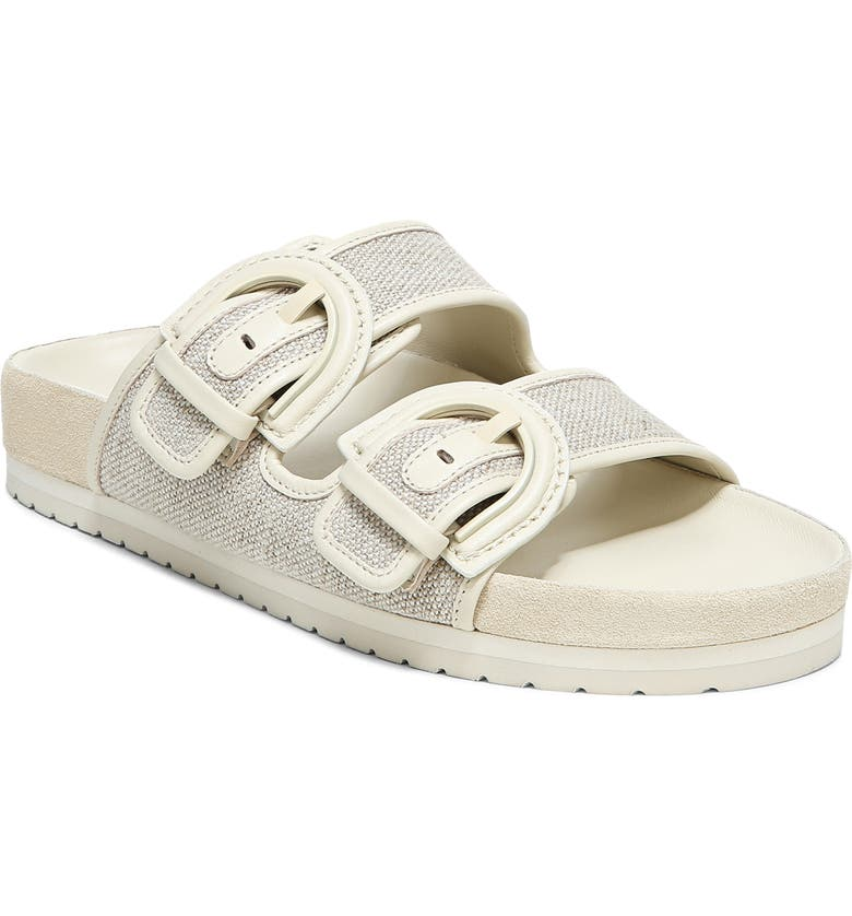 VINCE Glyn Slide Sandal, Main, color, NATURAL