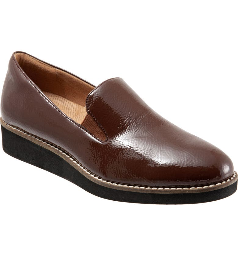 SOFTWALK<SUP>®</SUP> Whistle Slip-On, Main, color, ESPRESSO LEATHER