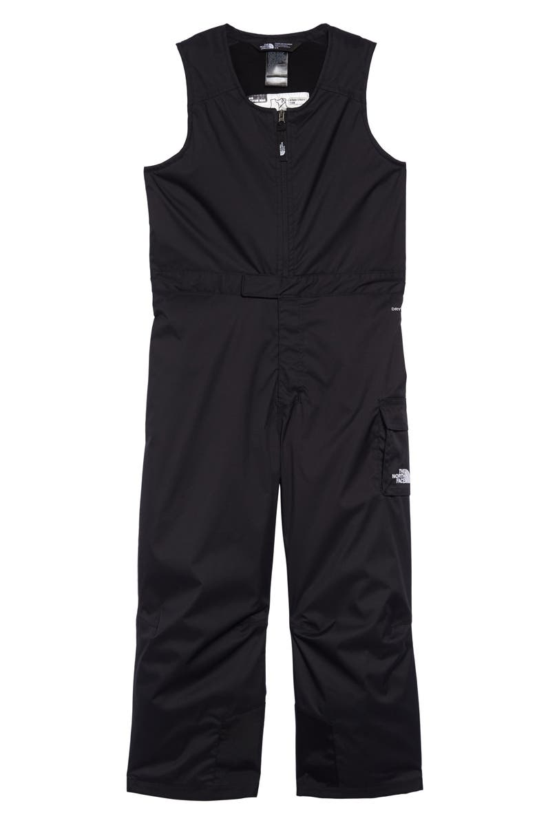 THE NORTH FACE Kids' Waterproof Heatseeker<sup>™</sup> Insulated Bib Snowsuit, Main, color, 003