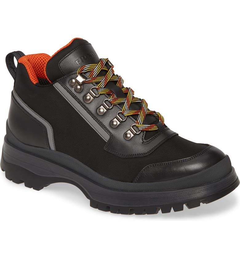 PRADA Novo Hiking Boot, Main, color, 008