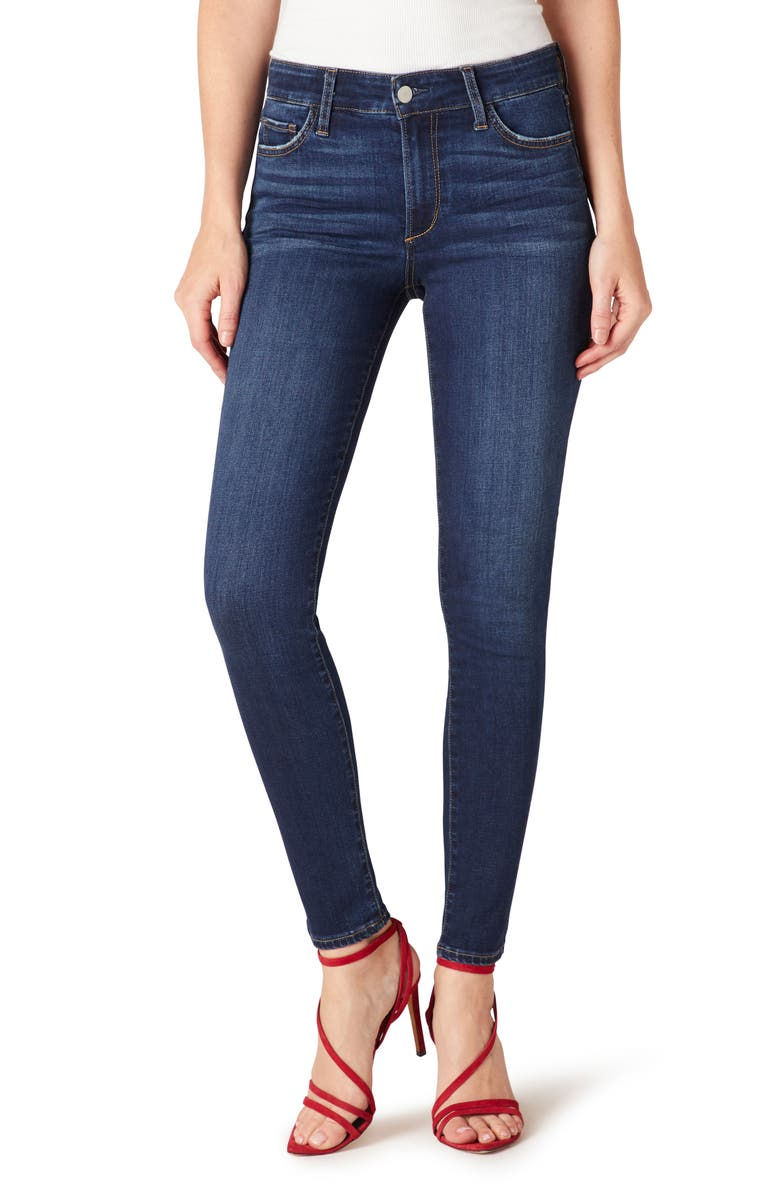 JOE'S Icon Mid Rise Ankle Skinny Jeans, Main, color, 408