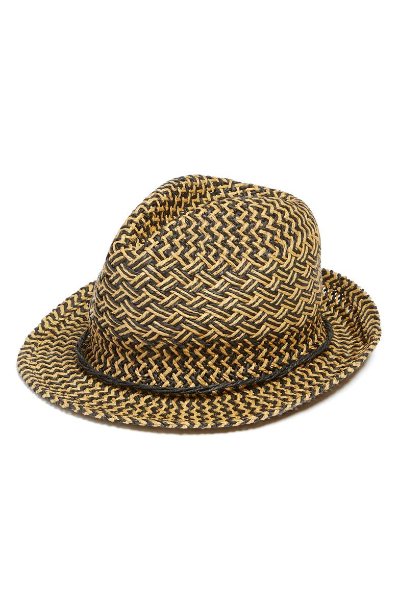 PHASE 3 Straw Fedora, Main, color, 200