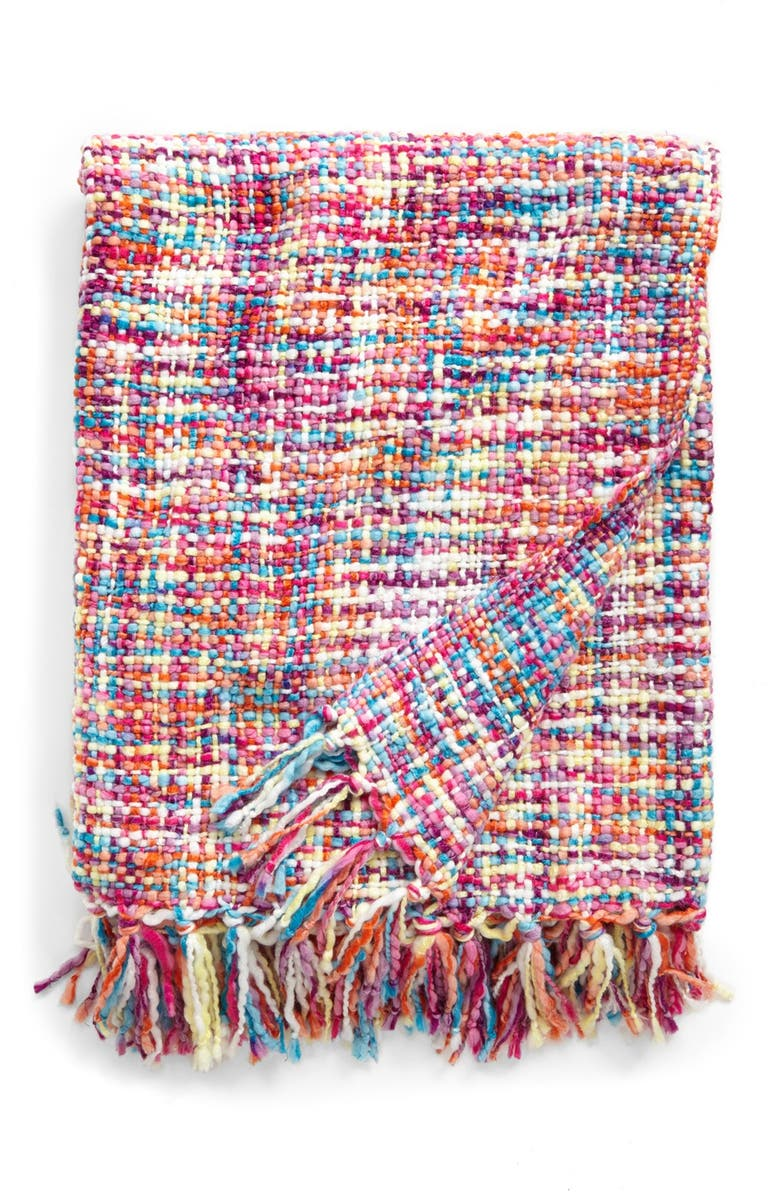 SPENCER N. HOME 'Confetti' Throw, Main, color, 650