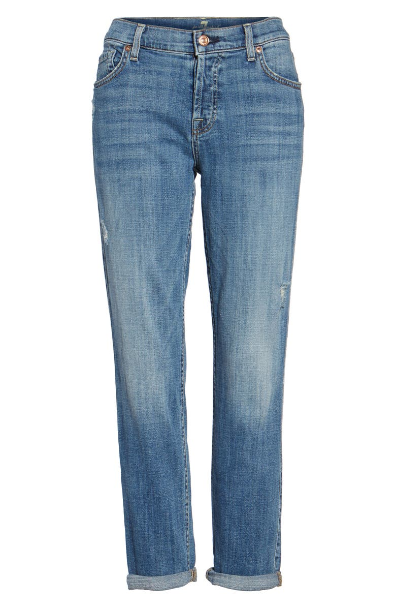 7 FOR ALL MANKIND<SUP>®</SUP> 'Josefina' Boyfriend Jeans, Main, color, 400