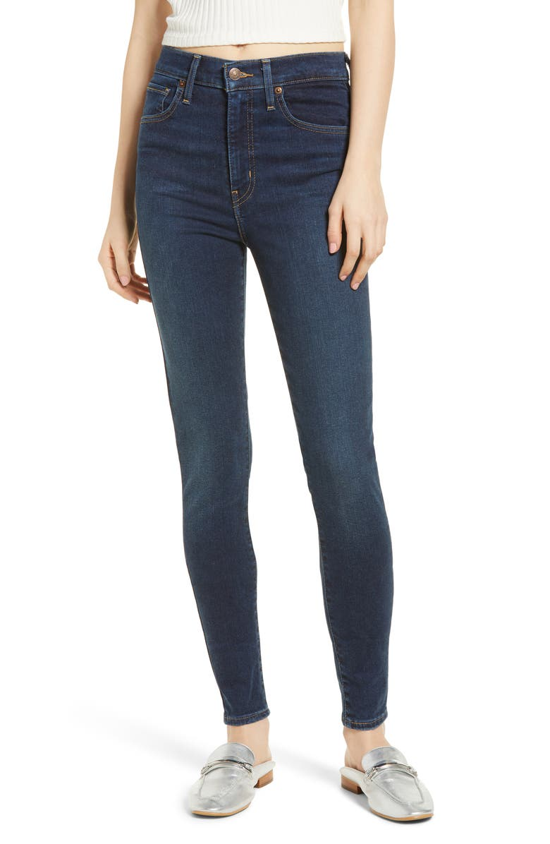 LEVI'S<SUP>®</SUP> Mile High Super Skinny Jeans, Main, color, 401