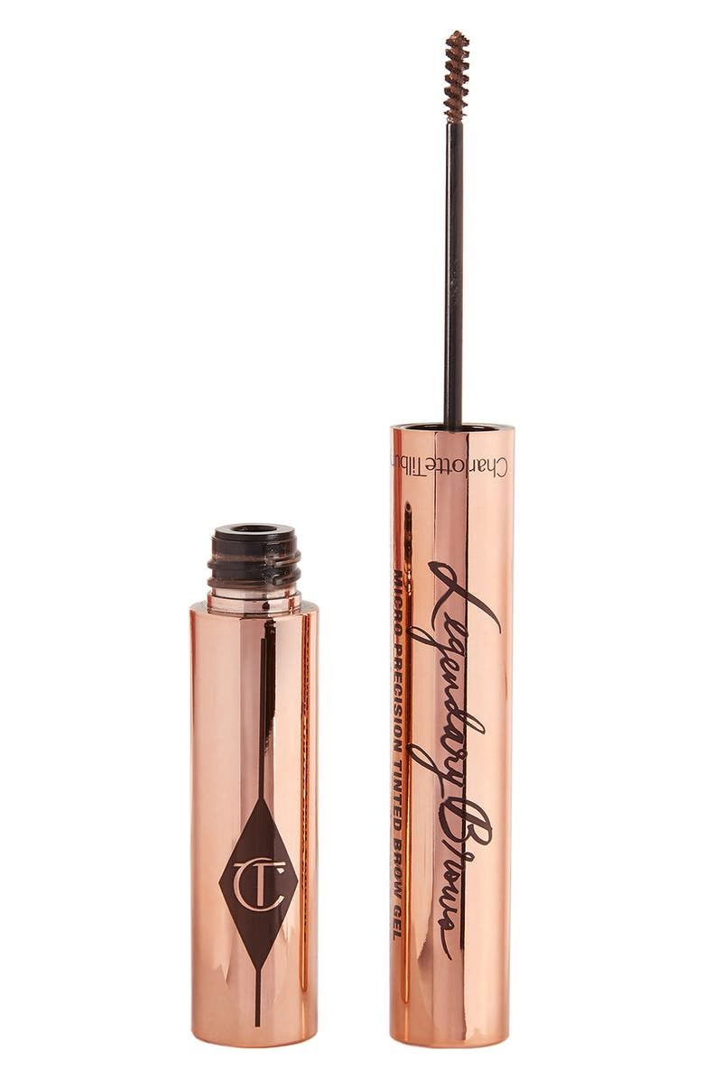 CHARLOTTE TILBURY Legendary Brows Micro-Precision Tinted Brow Gel, Main, color, SOFT BROWN