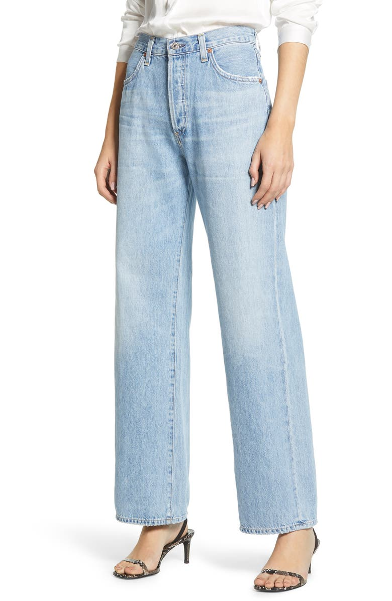 CITIZENS OF HUMANITY Flavie High Waist Trouser Jeans, Main, color, TULAROSA
