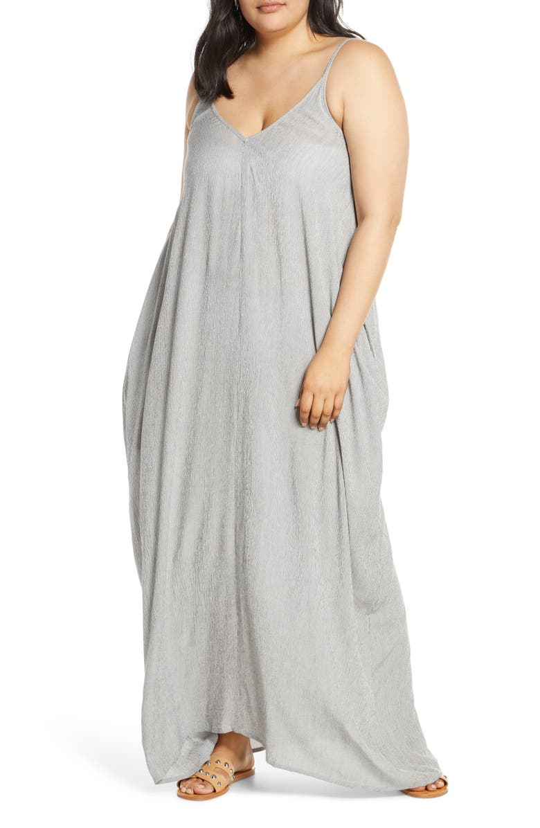 ELAN Cover-Up Maxi Dress, Main, color, 001