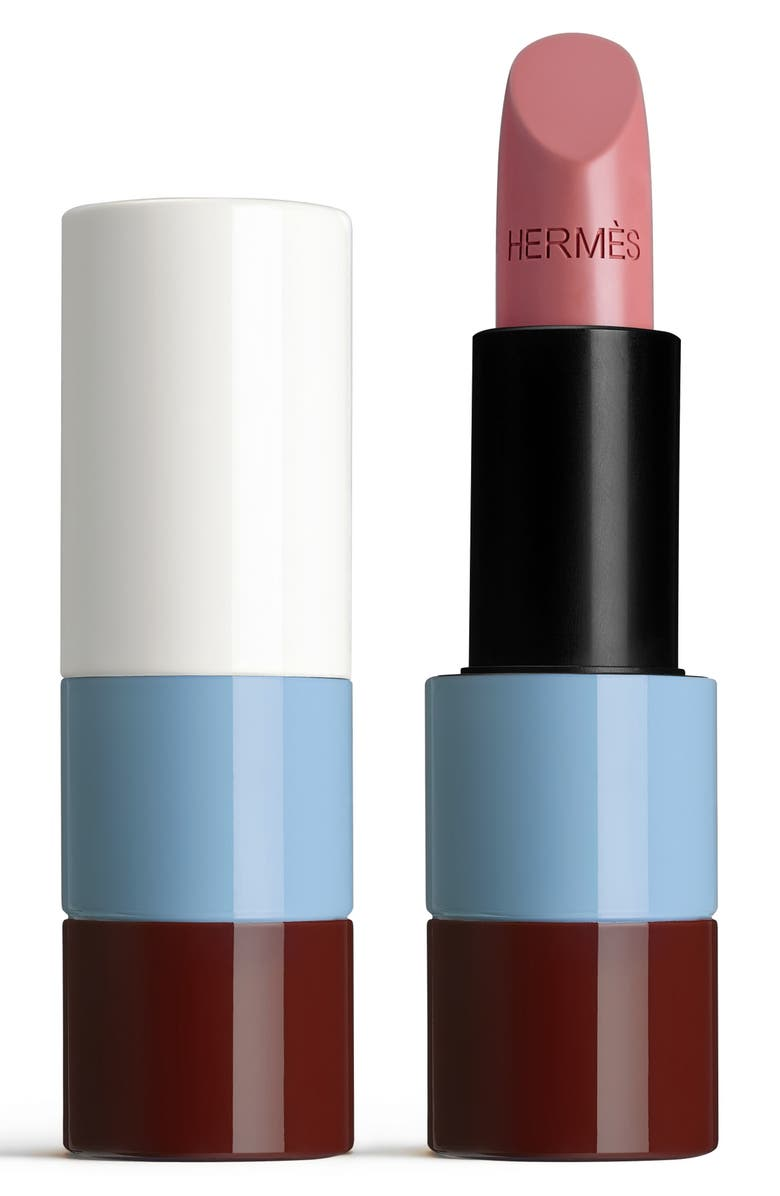 HERMÈS 45 Rose Ombré Rouge Hermès - Satin lipstick, Main, color, NO COLOR