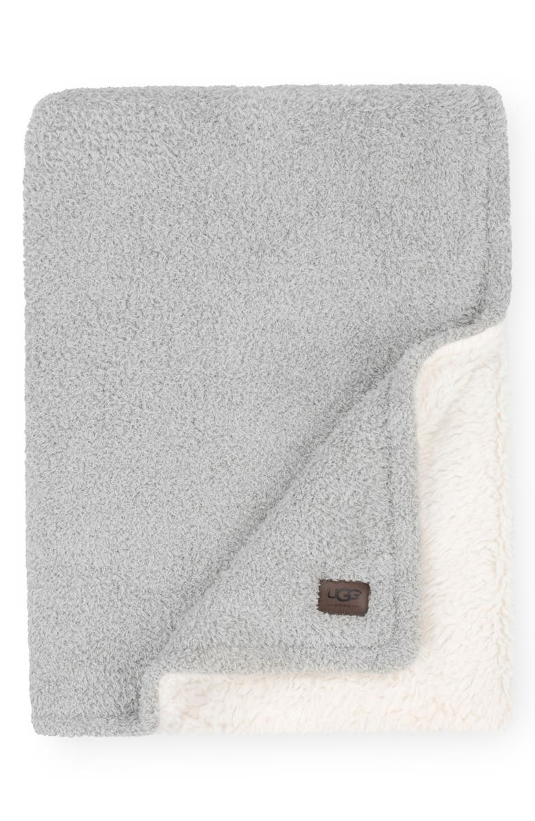UGG<SUP>®</SUP> Ana Faux Shearling Throw, Main, color, 061