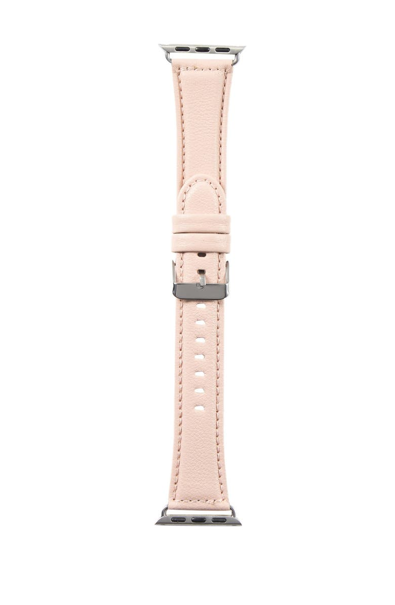 SARINA Women's Interchangeable Leather Watch Strap, Main, color, ROSE GOLD