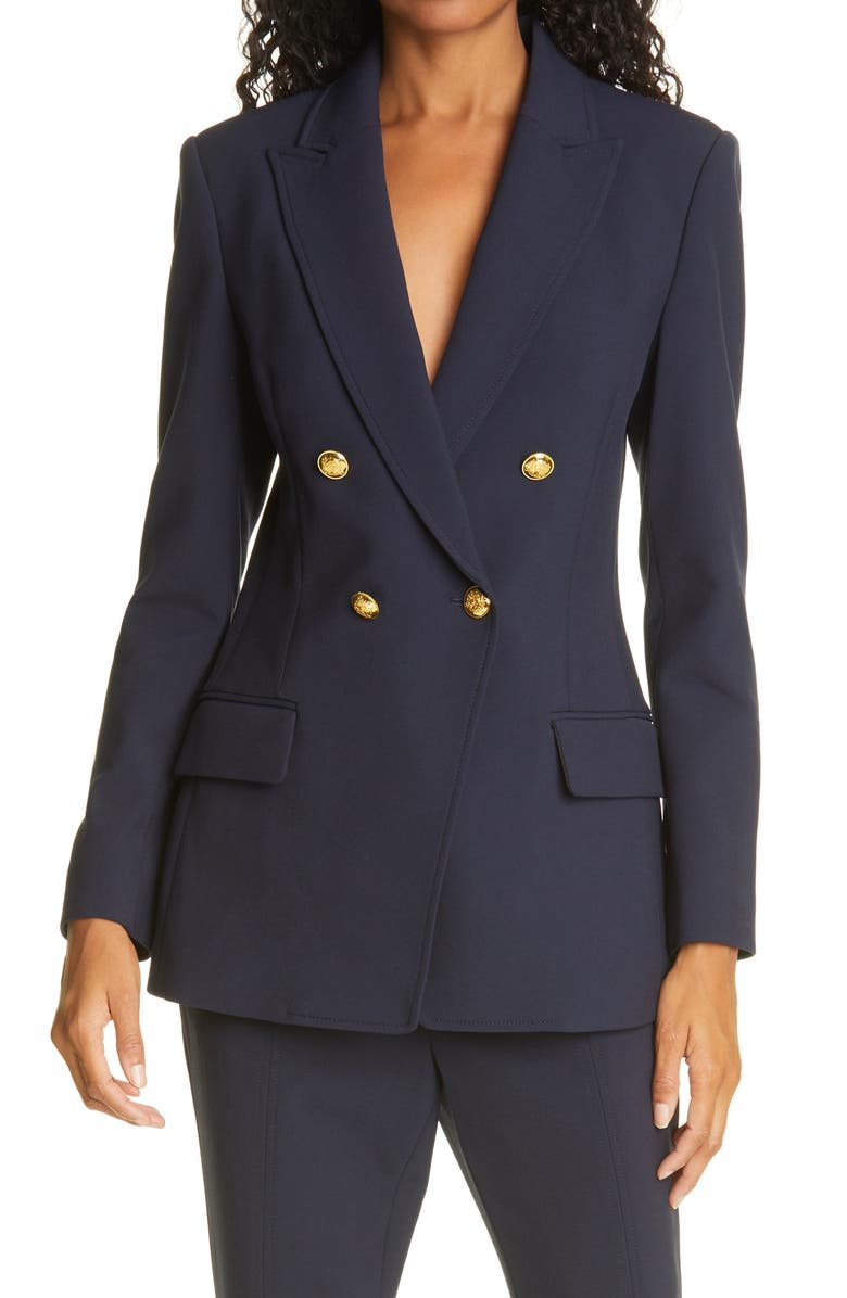 A.L.C. Sedgwick II Double Breasted Blazer, Main, color, NAVY