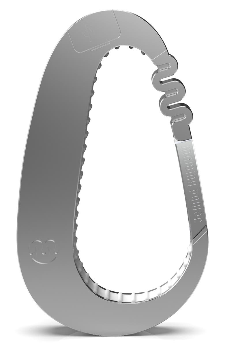 MOMMY POWER Stroller Hook, Main, color, SILVER