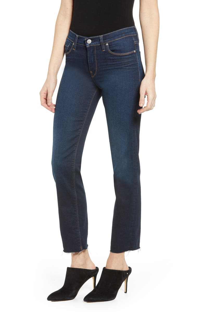 HUDSON JEANS Nico Straight Ankle Jeans, Main, color, 403