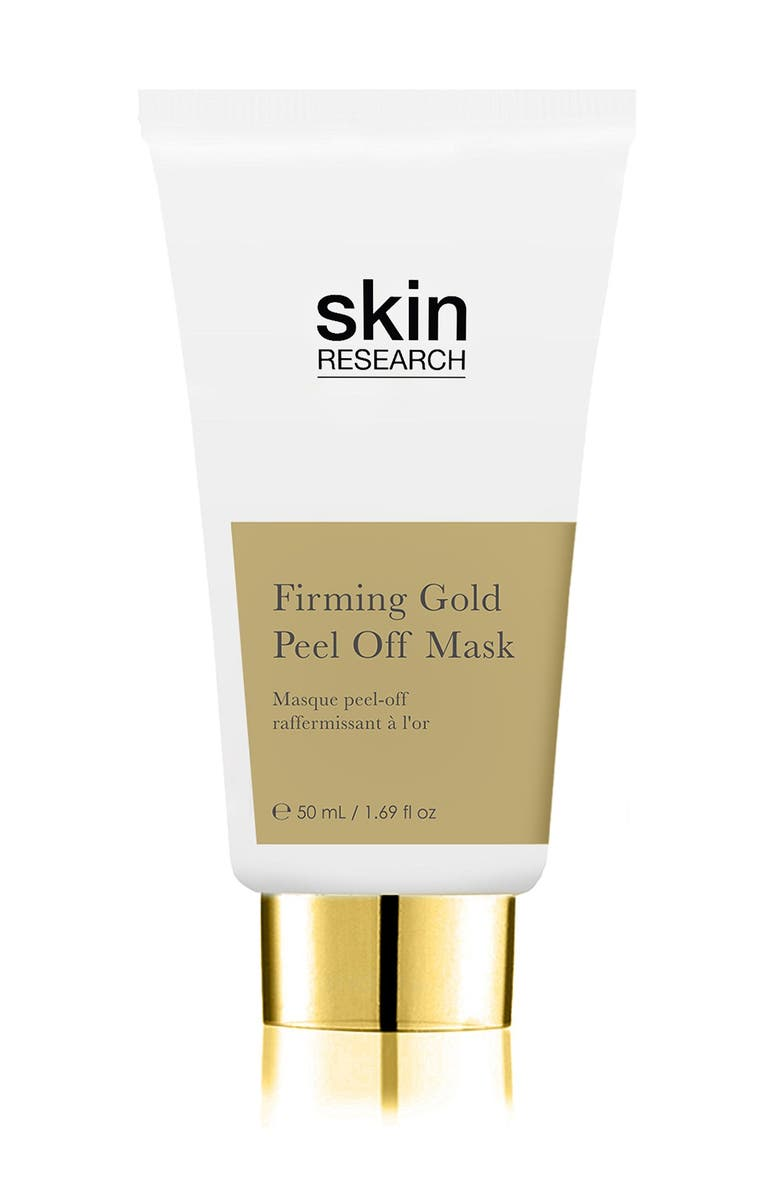 SKINCHEMISTS Firming Gold Peel Off Mask, Main, color, NO COLOR