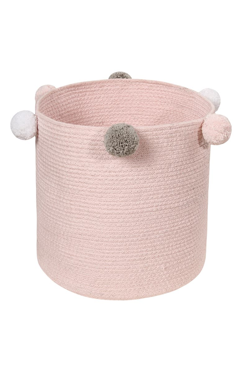 LORENA CANALS Bubbly Basket, Main, color, Pink